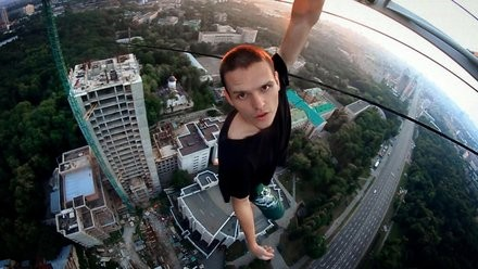 Don't Look Down - Can you see the Integral in Urban Free Climbing? Pt 3
